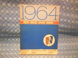 1964 buick special u0026 skylark original chassis service manual