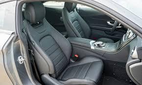 mercedes c class seat covers 2017 mercedes c class coupe drive review autonxt