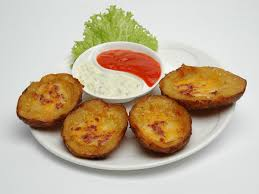 cuisine appetizer potato skins