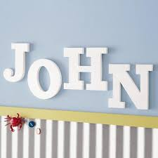 diy spring wall art block letters out of cereal boxes block