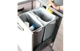 rangement poubelle cuisine meuble sous evier tiroir meuble poubelle cuisine poubelle de tiroir
