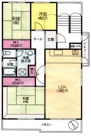 Floor Plan Of An Apartment Danchi Housing Lets You Think Outside The Usual Box The Japan Times