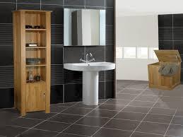 modern bathroom exclusive black tile design ideas picture