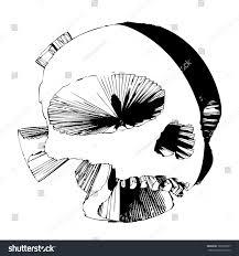 halloween skull transparent background dangerous skull vector isolated transparent scary stock vector