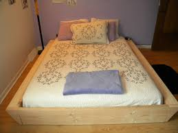 Bed Frames How To Make by Bedroom Pallet Bed Frame Cool Bed Frames Build A Bed Double Bed