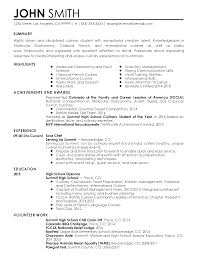 Job Resume Examples 2014 by Professional Sous Chef Templates To Showcase Your Talent