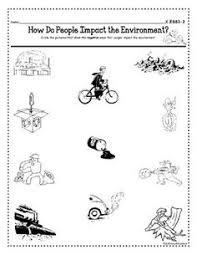 pollution types of pollution kindergarten worksheet guide
