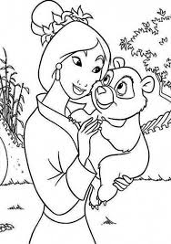 mulan panda pet coloring download u0026 print