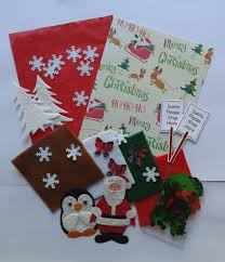 christmas craft embellishment pack great for kids crafts or