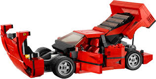 lego offers a ferrari f40 for the petrolhead kid in you