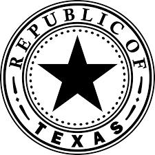 Black And White Texas Flag Flag Outline Clipart