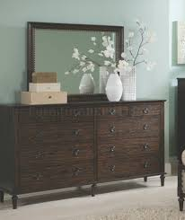 Dark Oak Furniture 203931 Bedroom In Dark Oak By Coaster W Options