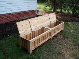 Modern Garden Chairs Home Accecories Wooden Garden Furniture Storage Box Modern Patio
