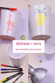 Wohnzimmer Lampenschirm Die Besten 25 Bemalte Lampenschirme Ideen Auf Pinterest