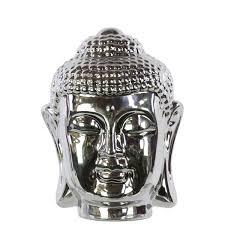 trends ceramic buddha chrome silver reviews wayfair