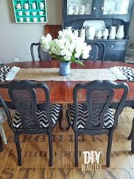 How To Set A Dining Room Table Refinishing A Dining Table Diy Beautify