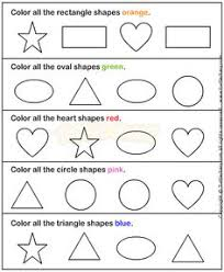 shapes1 math worksheets preschool worksheets okul öncesi