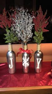 christmas wine bottle craft 3 wine bottles soaked to get the