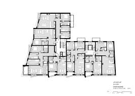dvor housing saaha archdaily third floor plan