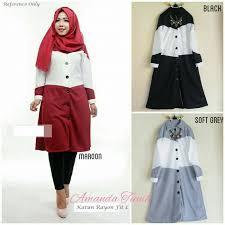 model baju 24 model baju atasan muslim wanita dari shella alaztha elegantria