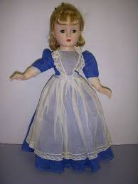 vintage 1950s madame meg doll from