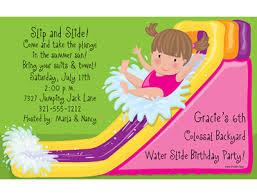 Birthday Invitation Words Water Slide Birthday Invitations Ideas U2013 Bagvania Free Printable