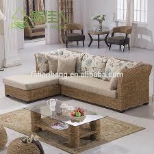 Seagrass Sectional Sofa Design Woven Classic Seagrass Rattan Wicker