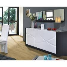 White Lacquered Sideboard Elypse I White Lacquer Sideboard With Dark Wood Body