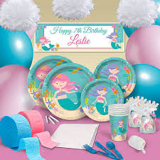 mermaid party supplies a birthday party worthy of the sea royalty with our