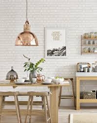 Light Dining Room by This Homely Kitchen Draws On The Classic Scandi Pairing Of Oak