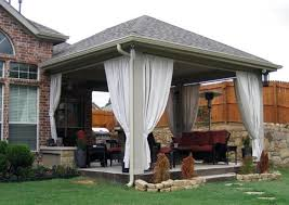 Gazebo On Patio by Diy Roofing For Outdoor Living Areas Custom Roofing Kits For