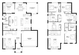Floor Plan Two Storey by Stunning Double Story Floor Plans 99 On Modern Decoration Design