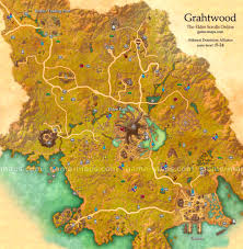 Online World Map by Grahtwood Map The Elder Scrolls Online Game Maps Com