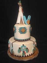 aztec and arrow baby shower cake specialty cakes pinterest