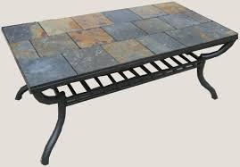 coffee table slate tile coffee table home interior design