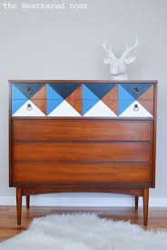 mid century changing table mid century modern dressers get custom diy makeovers