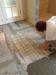 installing heated floor in bathroom wood floors forafri