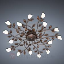 Schlafzimmer Lampen Antik Helios Leuchten 303624 Florentiner Wandleuchte Antik Braun Gold