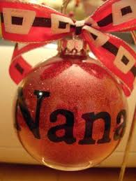 personalized monogrammed ornaments 7 00 via etsy