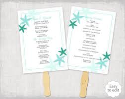 Word Template For Wedding Program Rustic Wedding Program Template Burlap U0026 Lace Diy