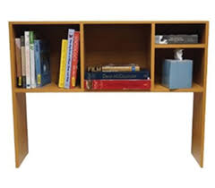 the college cube dorm desk bookshelf beech natural wood