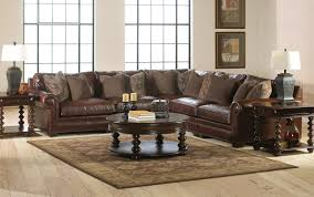 Living Room Design With Brown Leather Sofa by Impressive Detail For Leather Living Room Furniture Www Utdgbs Org