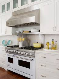 Stainless Steel Hood And Cooktop Design Ideas - Stainless steel cooktop backsplash