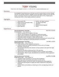 maintenance technician resume sample apartment maintenance