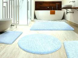 Navy And White Bath Rug Light Blue Bathroom Rugs Engem Me