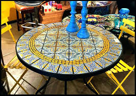 Mosaic Patio Tables Mosaic Table Top Mosaic Patio Table Top Diy Mosaic Table Top