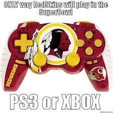 Funny Redskins Memes - redskins superbowl dream quickmeme