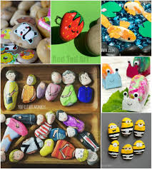 rock crafts for kids 25 creative rock painting ideas u2022 color
