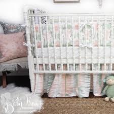 green baby bedding sets custom designer nursery decor