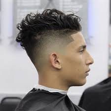 curly hair combover nellynelthebarber loose messy curly hair and high fade